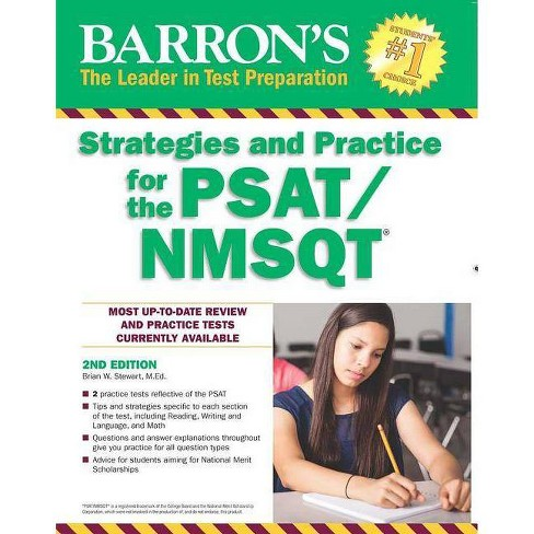 Strategies and Practice for the Psat/NMSQT - (Barron's Test Prep) 2 Edition by  Brian W Stewart - image 1 of 1