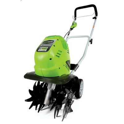 Greenworks 27062A 40V G-MAX Cordless Lithium-Ion 10 in. Cultivator (Tool Only)