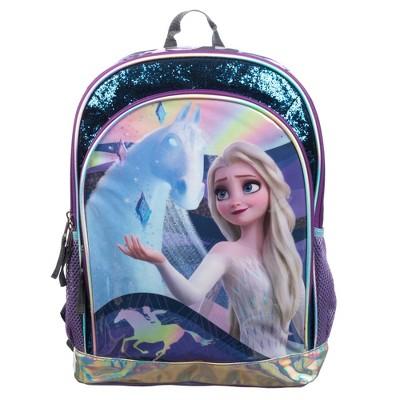 "Disney Frozen 2 Glitter 16"" Kids' Backpack - Navy"
