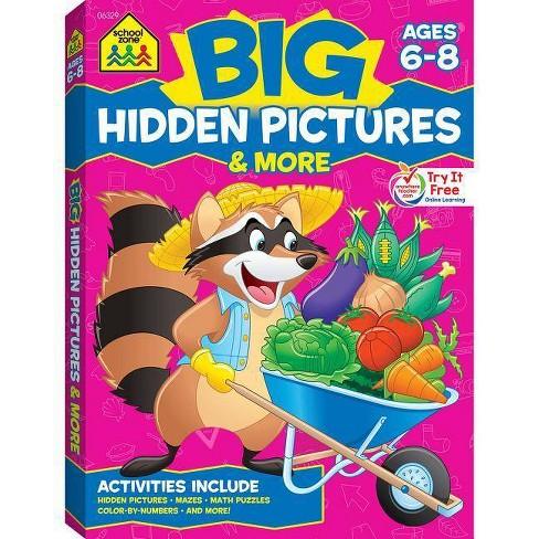 Big Hidden Pictures & More - (Big Get Ready Activity Workbook) (Paperback) - image 1 of 1