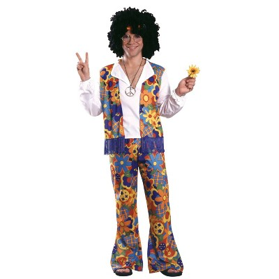 Men's Hippie Adult Costume One Size