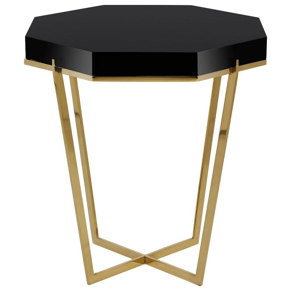 End Table Gold Black - Safavieh