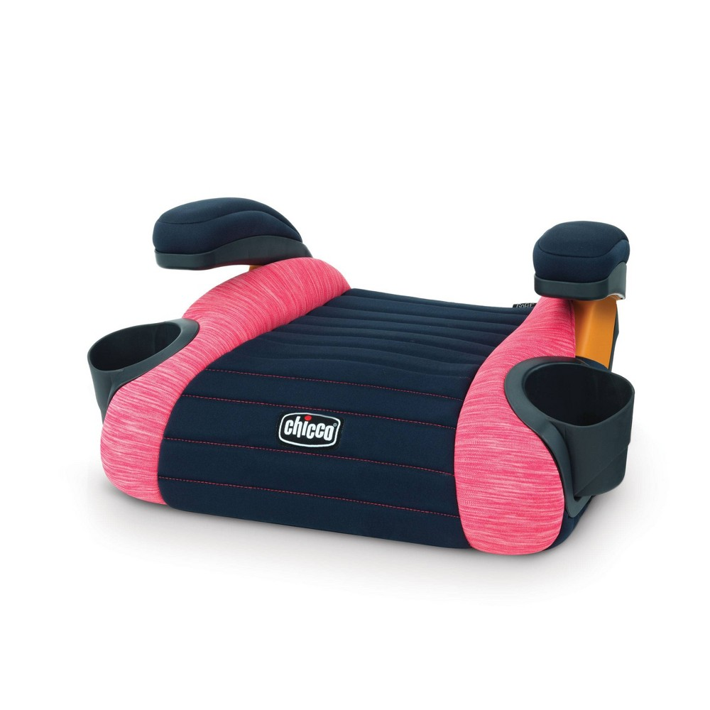 Image of Chicco GoFit No Back Booster Car Seat - Hibiscus