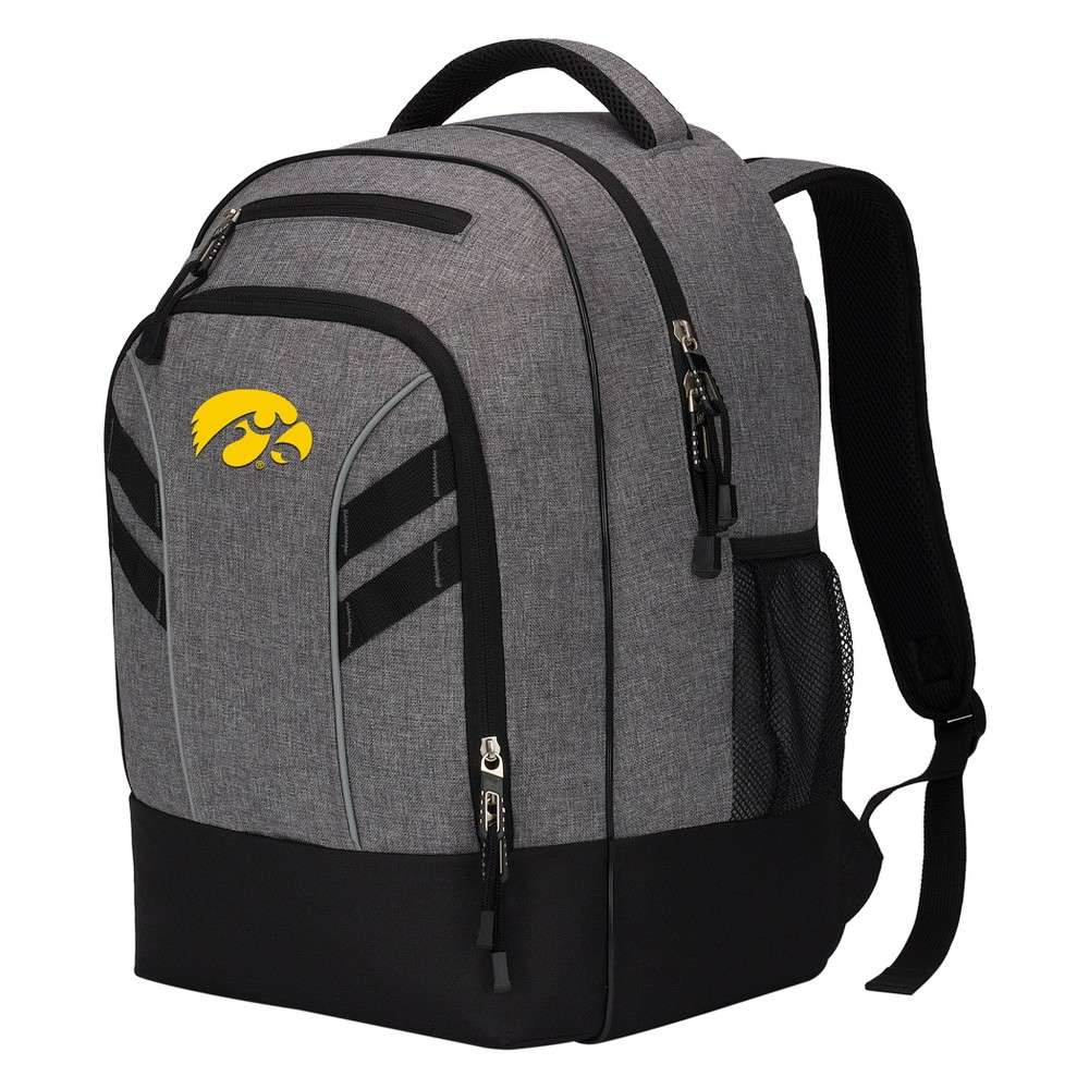 Iowa Hawkeyes Razor Gray Backpack