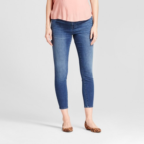 363defed6d418 Maternity Adjustable Waistband Post Pregnancy Jeans - Isabel Maternity By  Ingrid & Isabel™ Medium Wash : Target