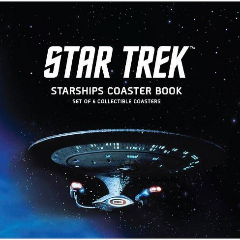 Star Trek Starships Coaster Book - by  Chip Carter (Board_book) - image 1 of 1