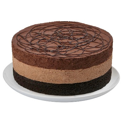 Dawn Foods Triple Chocolate Mousse Torte - 24oz