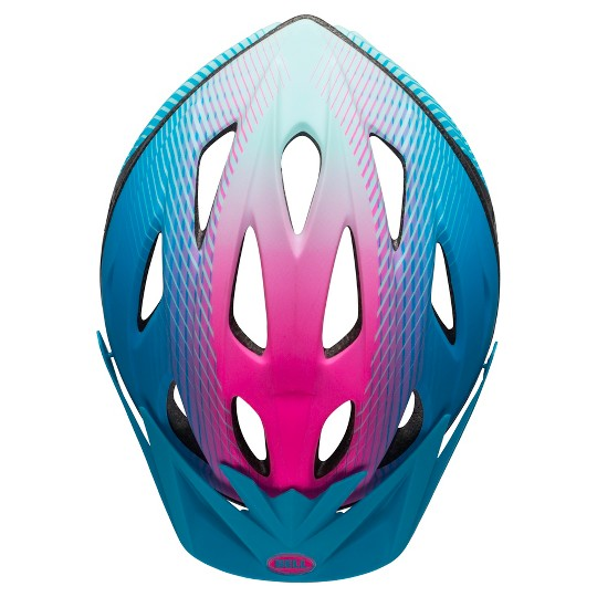 Bell Banter Traveler Youth Helmet (8+) - Blue/Pink image number null