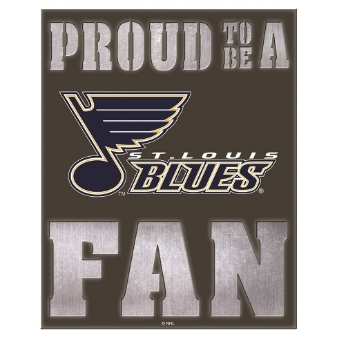 St. Louis Blues LED Metal Wall Art - image 1 of 1