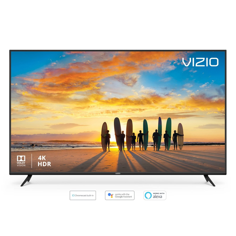 """Vizio V-Series 65"""" Class (64.5"""" Diag.) 4K Hdr Smart TV – Black (V655-G9)"""