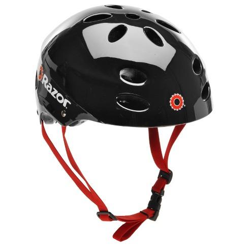 Razor V17 Bike Helmet - Black - image 1 of 4