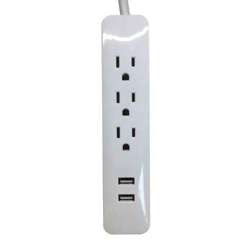Westinghouse 3 Outlet, Indoor USB Power Strip - image 1 of 2