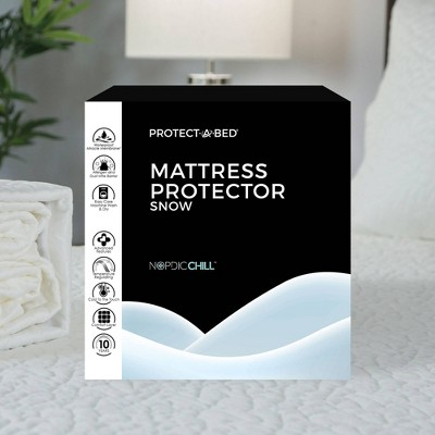 Queen Snow Mattress Protector - Protect-A-Bed
