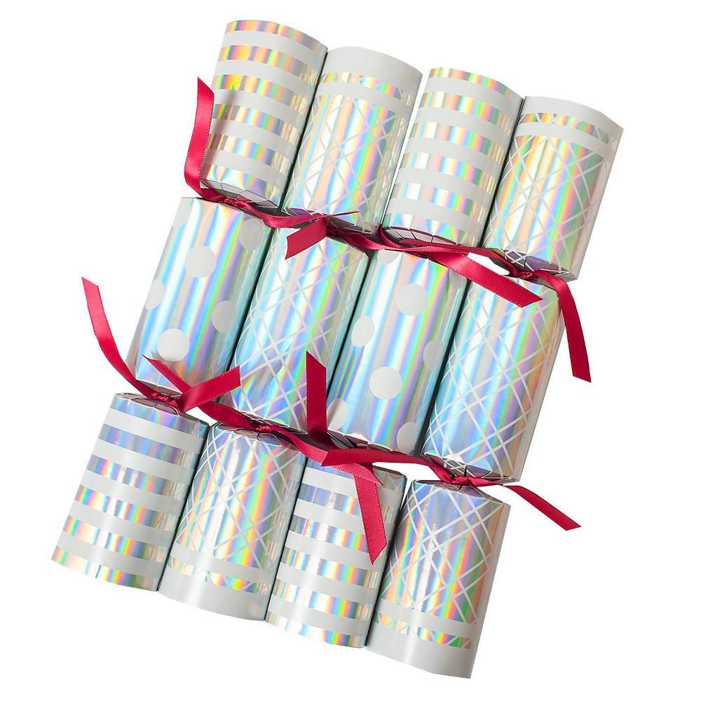 Image of Tom Smith 8ct Metallic Christmas Party Crackers