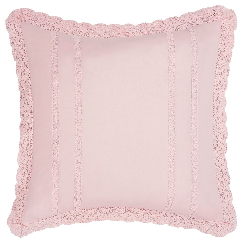 Image of Euro Pink Annabella Sham - Laura Ashley
