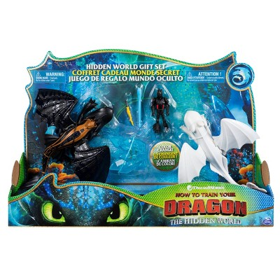 DreamWorks How to Train your Dragon Hidden World Toothless and Lightfury Gift Set Exclusively at Target
