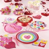 24ct Candy Hearts Valentine's Day Paper Plates - image 3 of 3