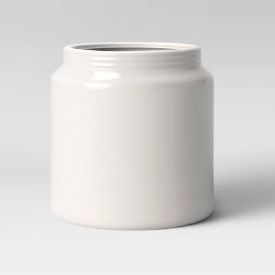 6  Stoneware Planter White - Threshold™