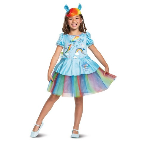 Girls' Rainbow Dash Tutu Deluxe Halloween Costume S - image 1 of 1