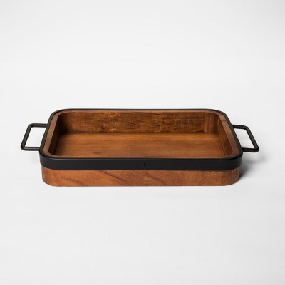 Decorative Tray - Brown - Threshold™