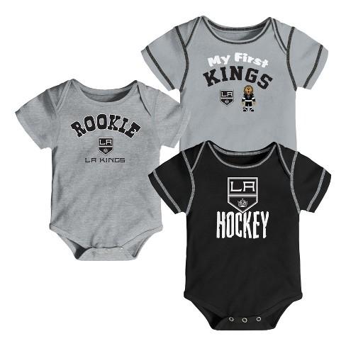 NHL Los Angeles Kings Boys' Game Winner 3pk Body Suit Set - image 1 of 4
