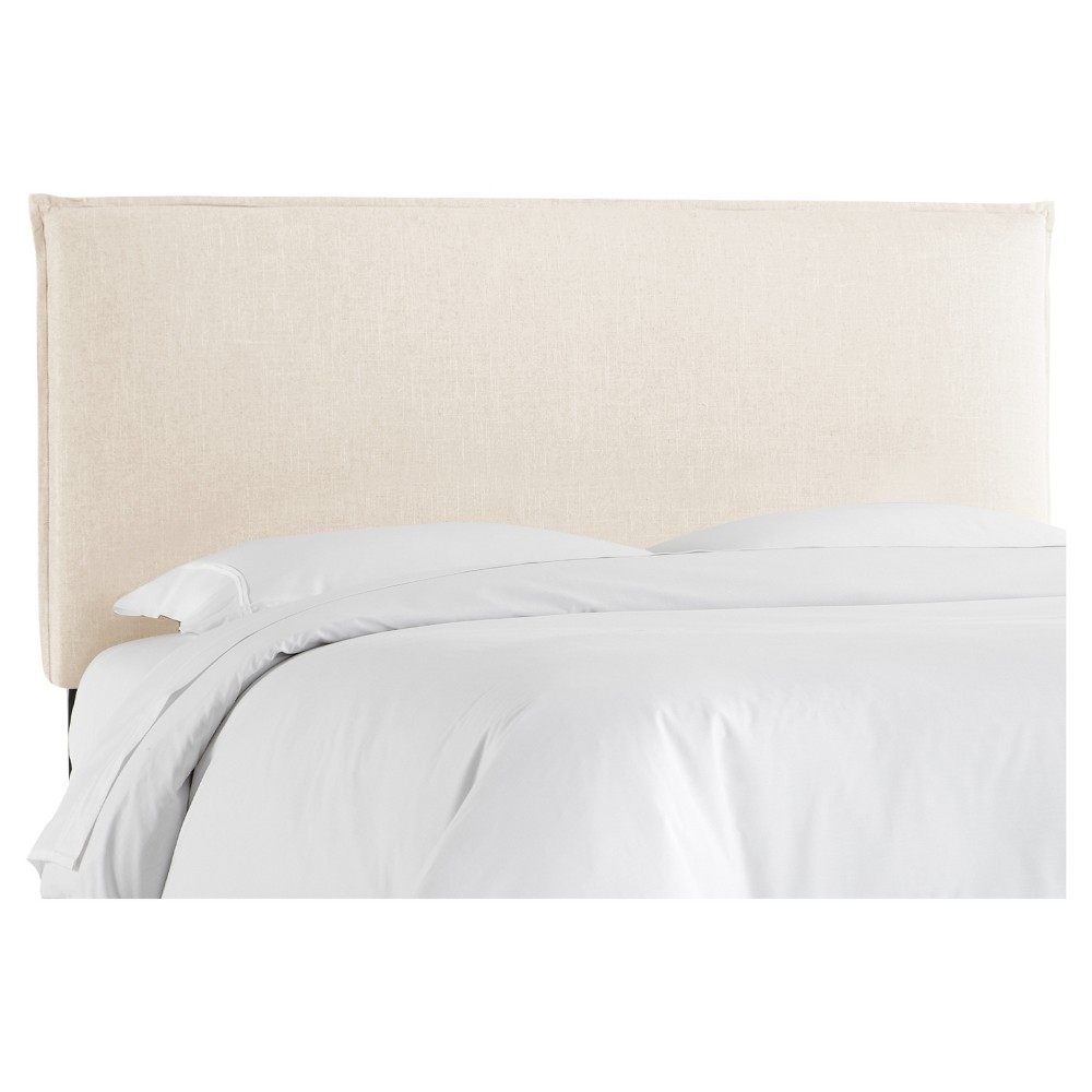 French Seam Queen Headboard - Ivory - Nate Berkus