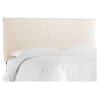 Full French Slipcover Headboard - Linen Talc - Nate Berkus™
