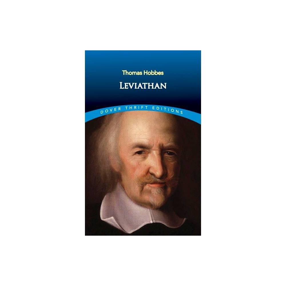 Leviathan Dover Thrift Editions By Thomas Hobbes Paperback