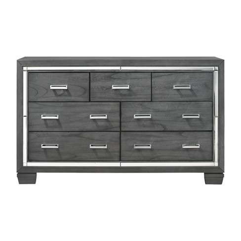 7 Drawer Kenzie Dresser Gray - Picket House Furnishings - image 1 of 4