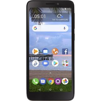 Simple Mobile Prepaid TCL A1 (16GB) - Black