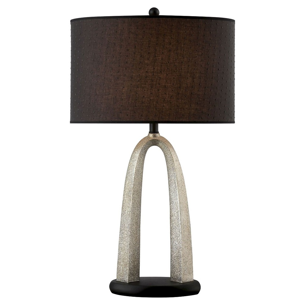 Lite Source Bambina 1 Light Table Lamp (Lamp Only) - Silver/Black