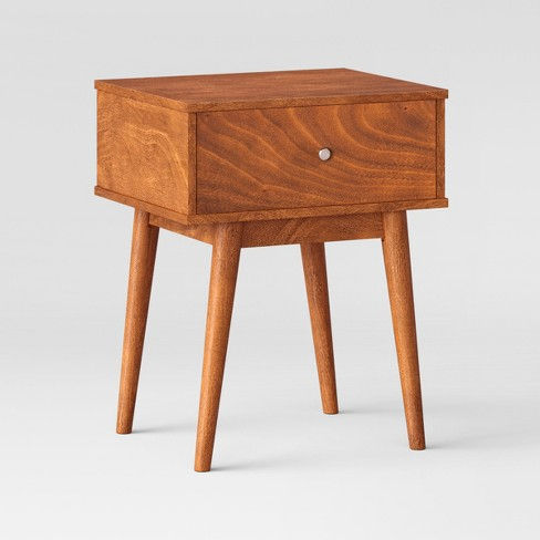 24 Amherst Mid Century Modern Side Table Brown Project 62 Target