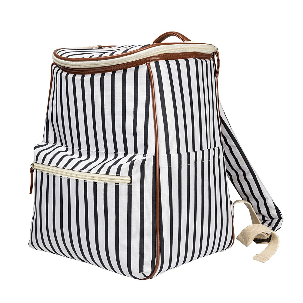 Cathy's Concepts Striped Backpack Cooler, Multi-Colored