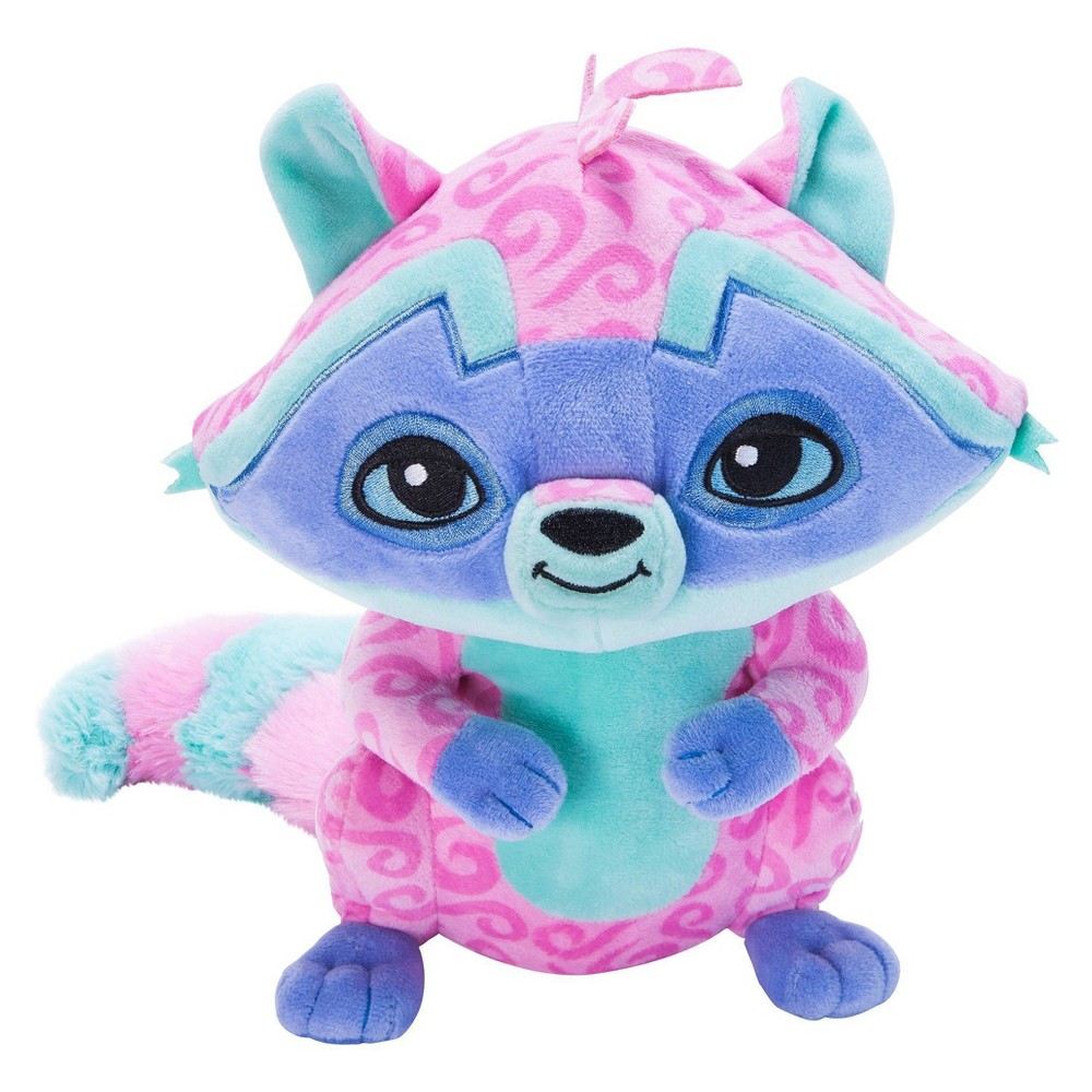"Animal Jam - Raccoon Deluxe Plush Animal Jam - Raccoon Deluxe Plush These Cuddly Friends love to show their personality with unique patterns! Each includes 1 code, inside the hangtag, that unlocks secret content in the hit online game Animal Jam. Collect Us All and Play Wild! at animaljam.com Animal Jam is created in association with National Geographic and is free to play. Features: • Super-soft, huggable plush • High quality materials • Hand wash only • Collect them all and Play Wild! at animaljam.com Includes: • 1 (approx. 12"") Plush Animal • 1 SECRET online game code, redeemable at animaljam.com/redeem All Ages Gender: unisex."