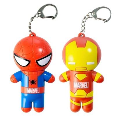 Lip Smacker Marvel Hero Lip Balm - Spider-Man/Captain America - 2pk