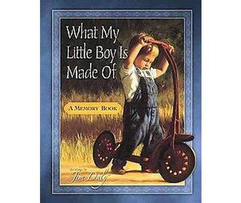 What My Little Boy Is Made Of : A Memory Book (Hardcover) - image 1 of 1