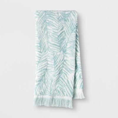 Palm Hand Towel Aqua - Opalhouse™