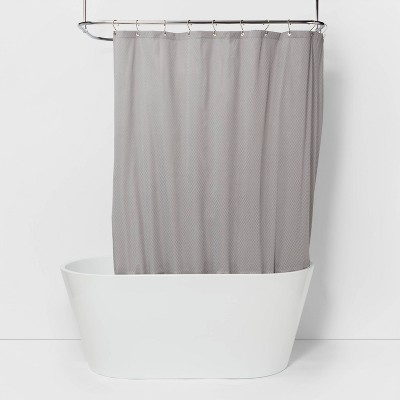 Waterproof Fabric Heavy Weight Shower Liner Gray - Made By Design™