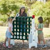 ECR4Kids Jumbo Four-To-Score Giant Game-Indoor/Outdoor 4-In-A-Row Connect - Green and White - image 4 of 4