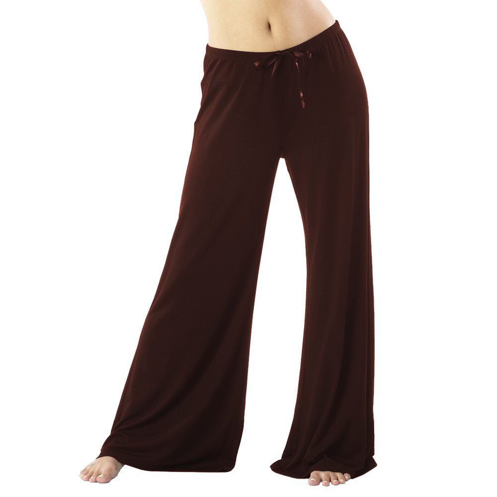 Women's Modal Pajama Pants - Extended Lengths Chocolate (Brown) S Shorts, Size: S Short