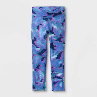 Girls' Printed Capri Leggings - All in Motion™