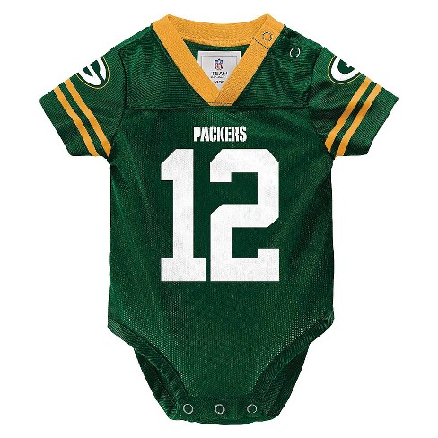 363d1388 Green Bay Packers Toddler/Infant Jersey Body Suit 0-3 M