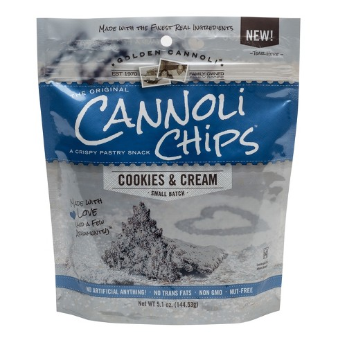 Golden Cannoli Cookies & Cream Cannoli Chips - 5.1oz - image 1 of 2