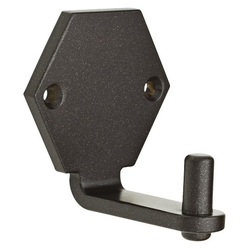 Young House Love Flat Hexagon Rail Hook - Cocoa Bronze - image 1 of 3