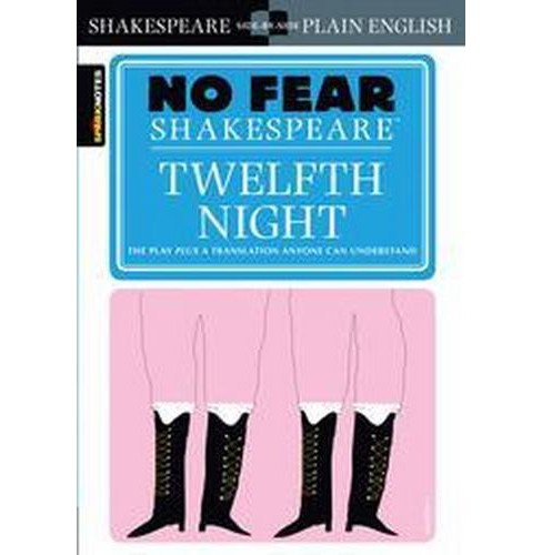 Sparknotes Twelfth Night (Paperback) (William Shakespeare) - image 1 of 1
