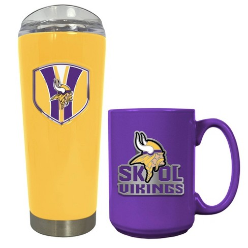 NFL Minnesota Vikings Roadie Tumbler and Mug Set - image 1 of 1