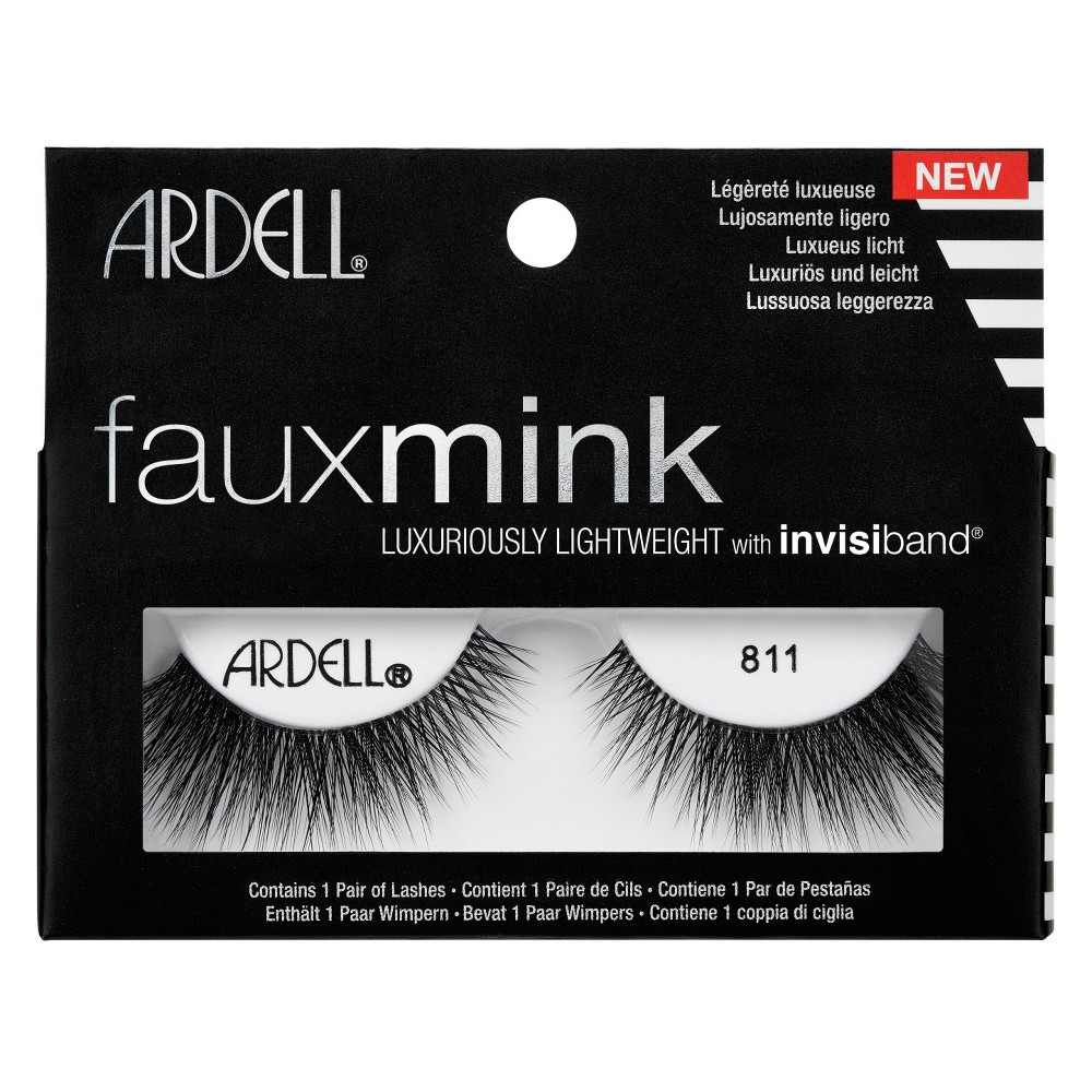 Ardell Eyelash 811 Faux Mink Black - 1ct