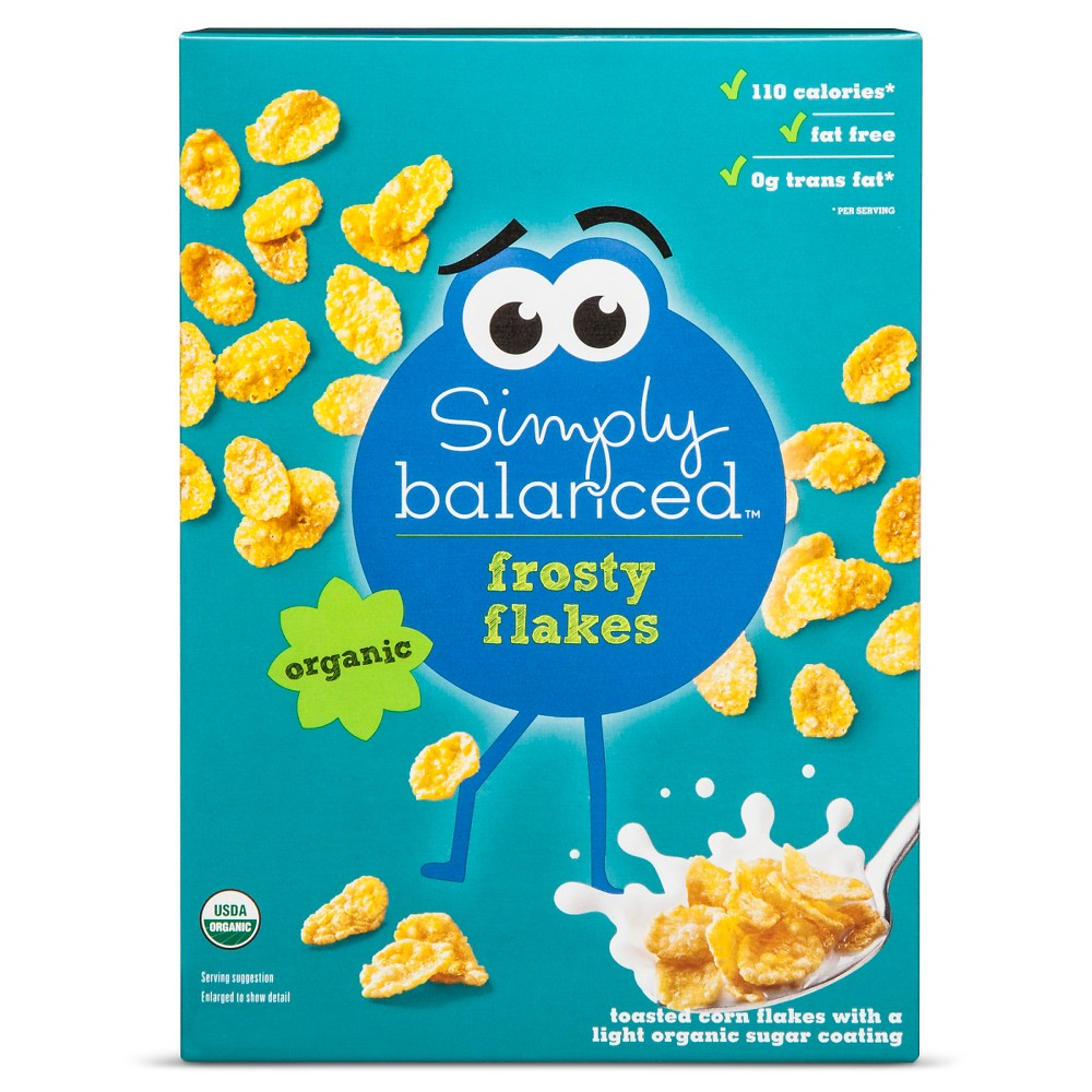 Frosty Flakes Breakfast Cereal - 12oz - Simply Balanced