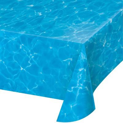 Water Print Plastic Tablecloth