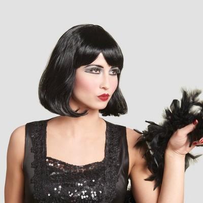 Adult Black Flapper Halloween Wig - Hyde & EEK! Boutique™